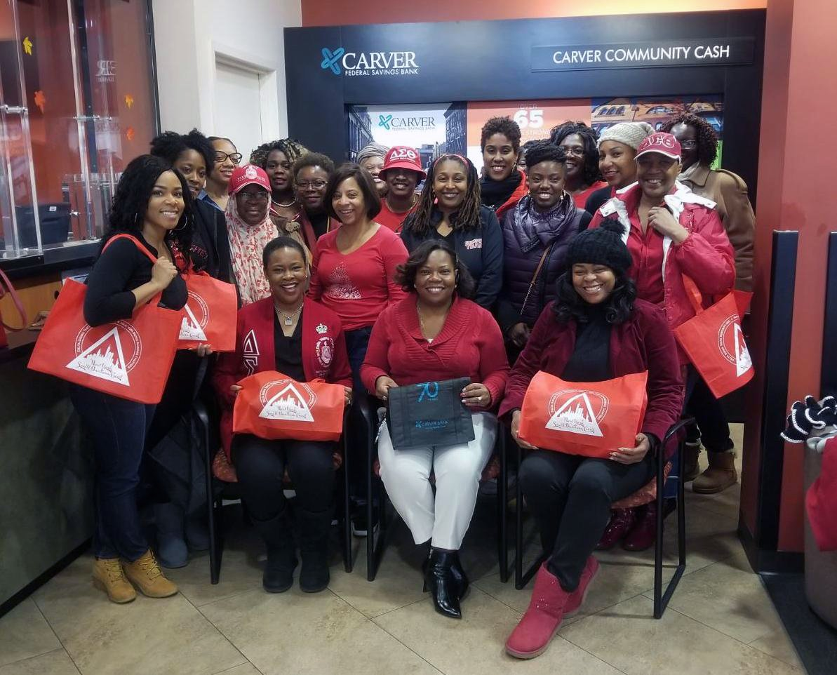 carver - ladies of sigma delta theta Small Business Saturday
