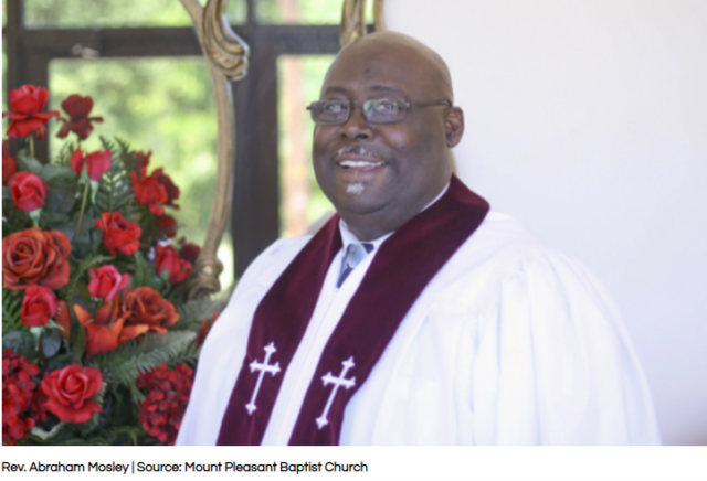historic firsts for Black people Rev. Abraham Mosley