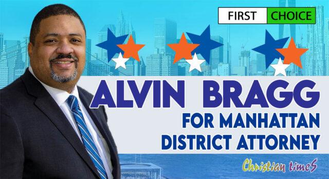 Manhattan district attorney's race - Candidate Alvin Bragg
