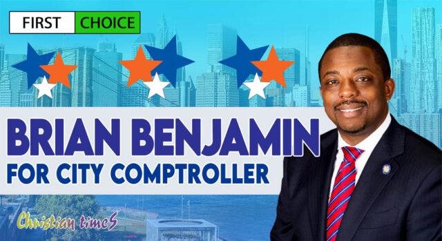 Benjamin for city comptroller