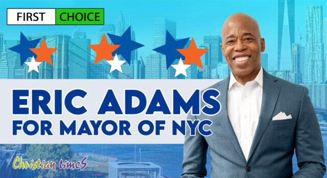 Borough President Eric Adams