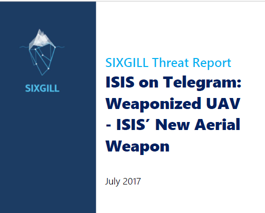 Telegram Report Cover page