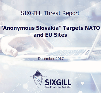 Slovakian report anonymous slovakia targets nato and eu sites