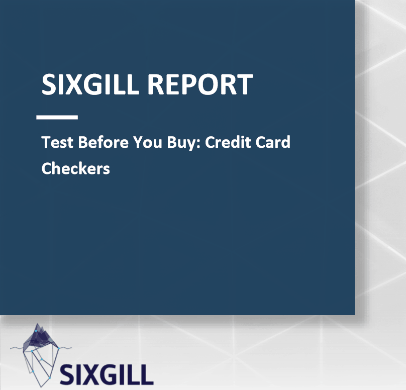 sixgill report cover test before you buy credit card checkers