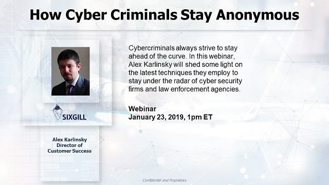 webinar how cybercriminals stay anonymous