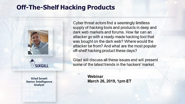 webinar off the shelf hacking products