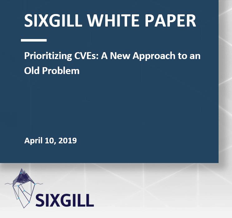 sixgill whitepaper CVE Common Vulnerabilities and Exposures