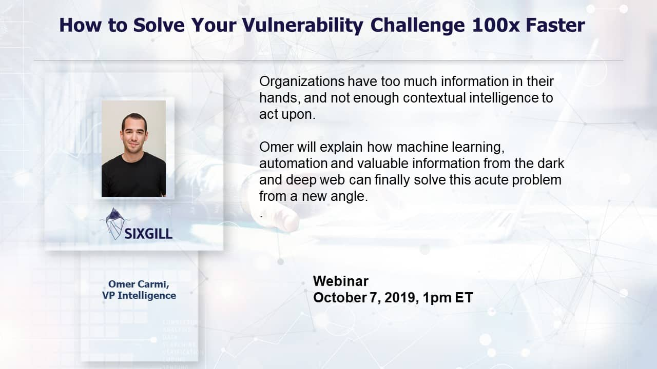 webinar how to solve vulnerability challenge 100x faster