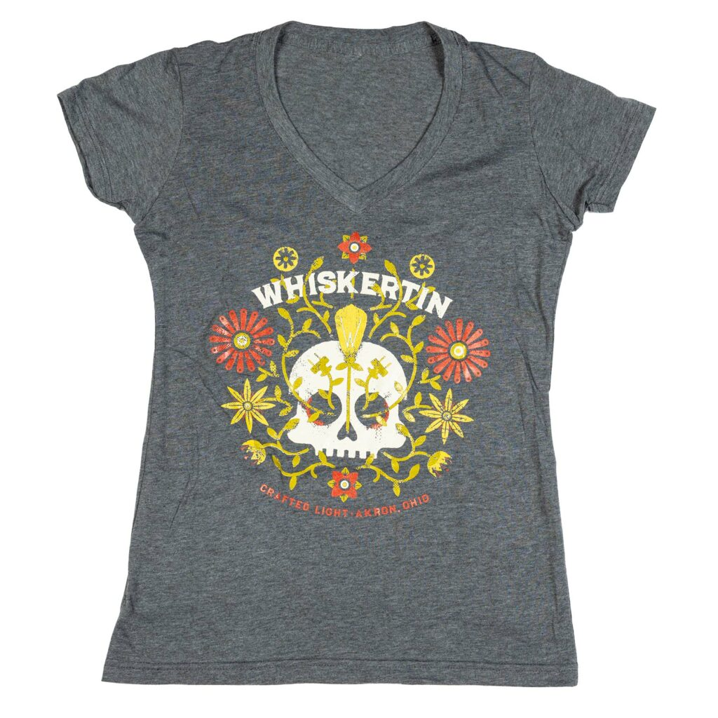 Skull Plants Ladies Tee