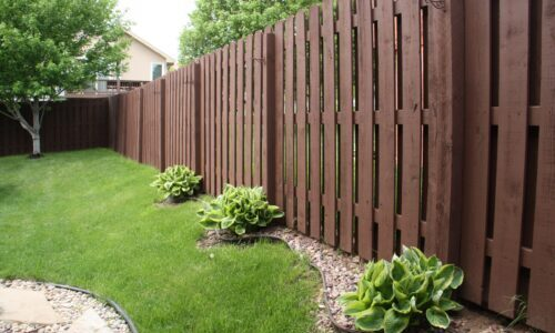 fence painting