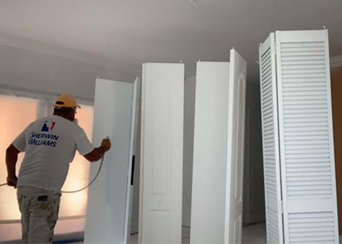 interior-doors-spray-painting