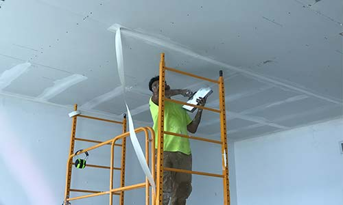 ceiling tapping