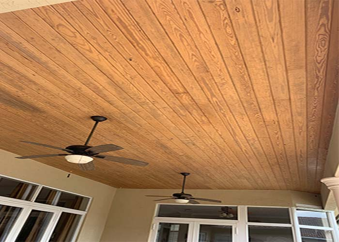 wood-ceiling-staining