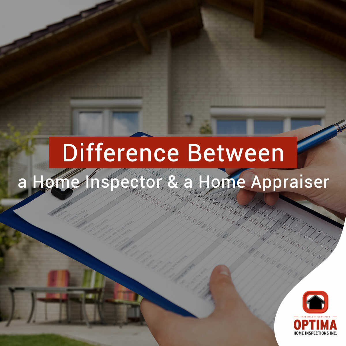 Difference Between a Home Inspector & a Home Appraiser
