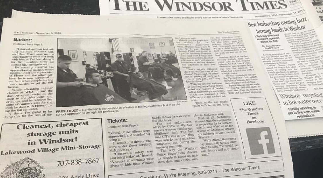 Featured in the Windsor Times
