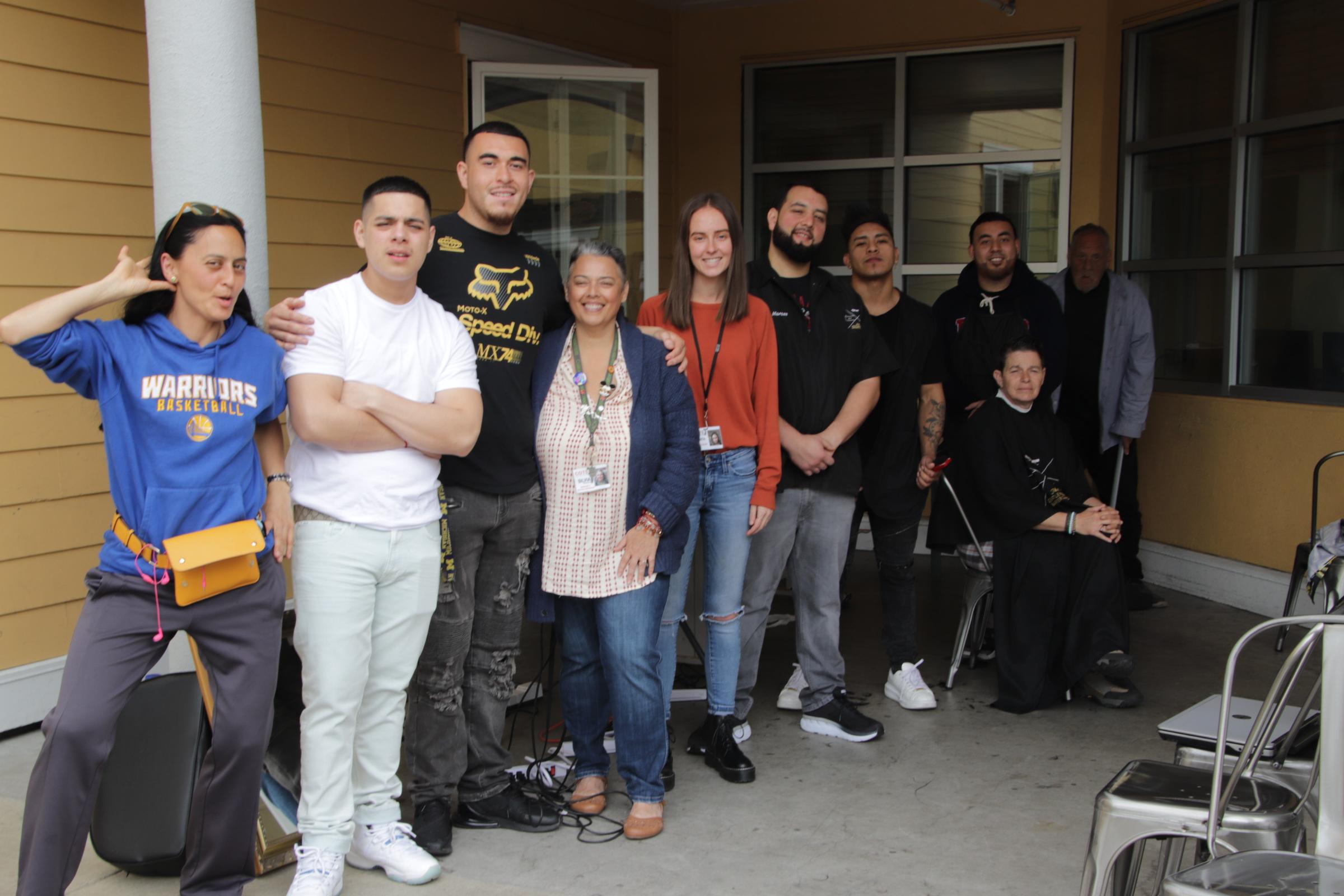 Community Cuts at Mary Isaac Center