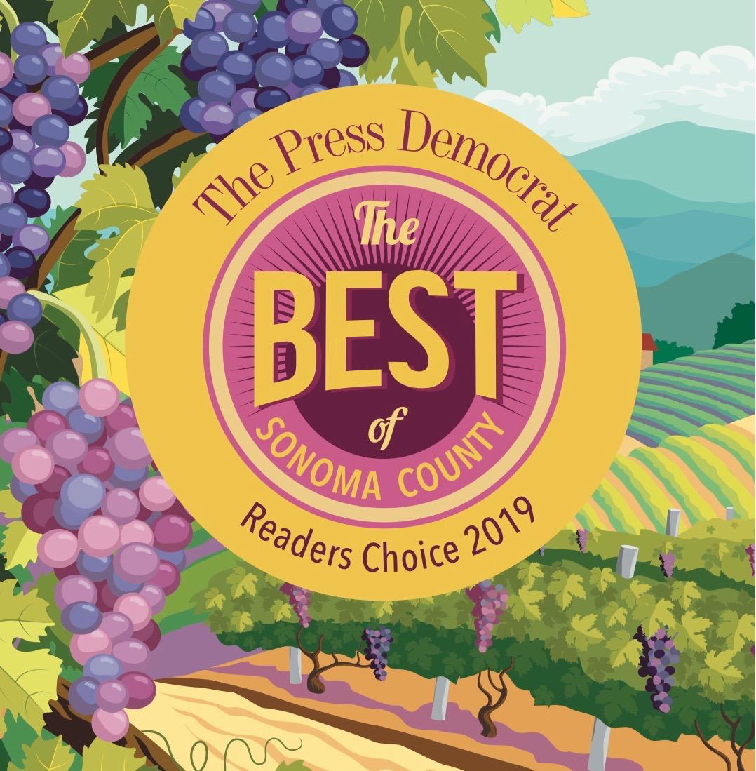 Best of Sonoma County Award Winner