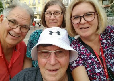 Dave,-Paula,-Tom-and-Carla-in-Spain-a-previous-life-location