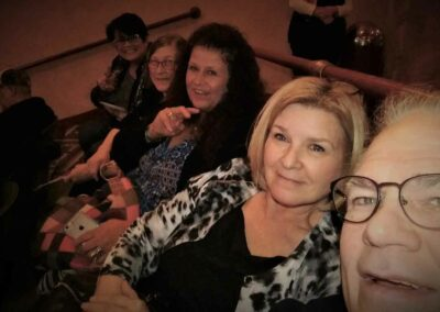 Diane,-Paula,-Annie,-Carla-and-Dave-at-a-concert