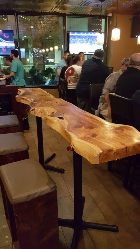 Bar table at courthaus social and Arlington