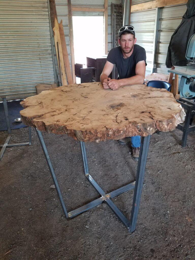 Cookie Slab Bar top table