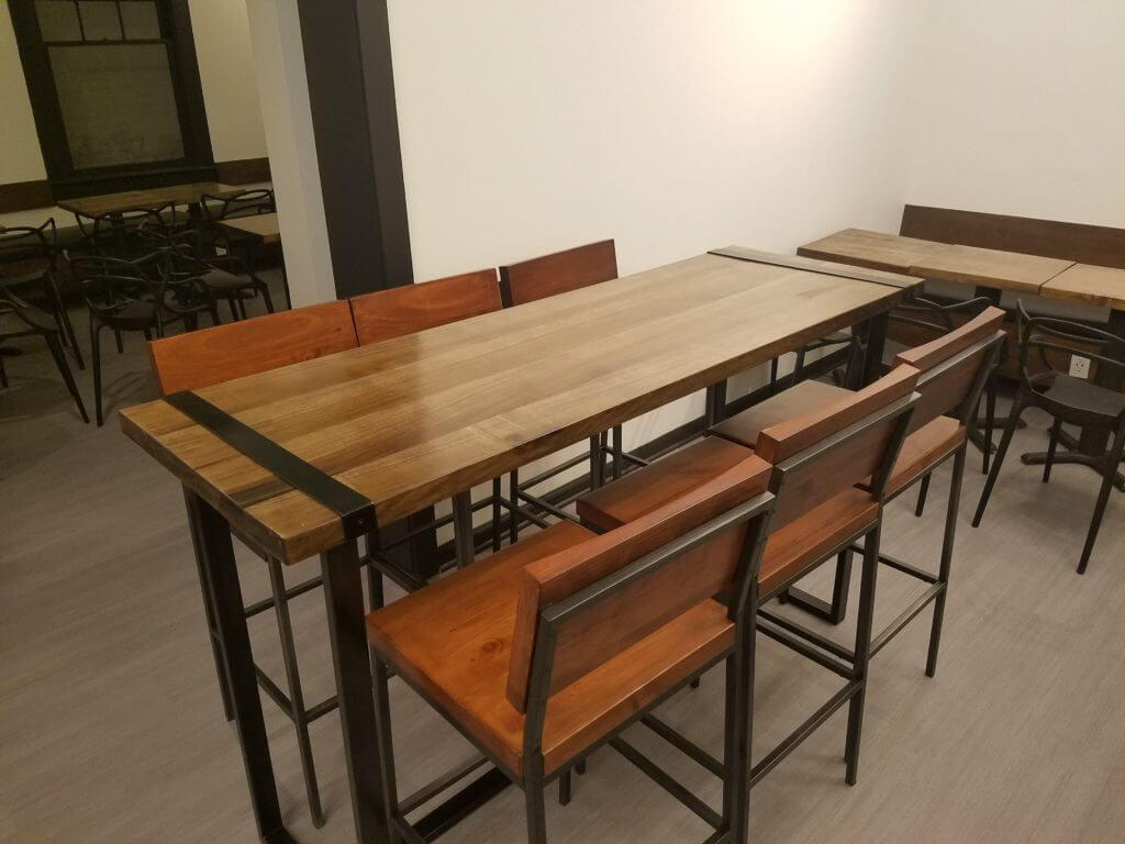 Restaurant high top tables