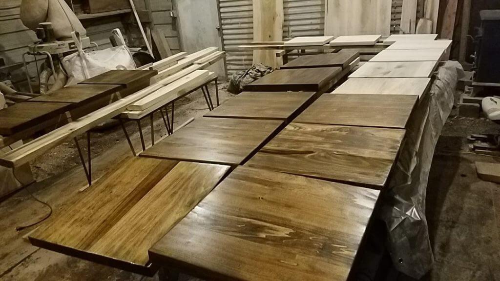 restaurant tables custom made