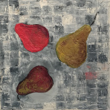 Encaustic-Pears-on-Panel-12x12