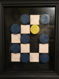 Encaustic-Tic-Tac-Toe-Mixed-Media