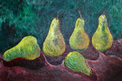 Encaustic - Pears - PVT Collection