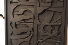 Wall-Sculptures-Composition-in-Black-Wood