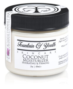 Coconut Moisturizer Fountain Of Youth Skincare