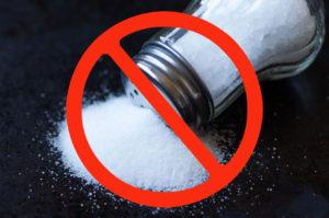 Heart Healthy Tip - Cut the Salt