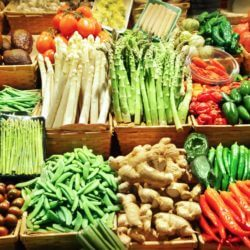 Stock up on fresh fruits and vegetables.
