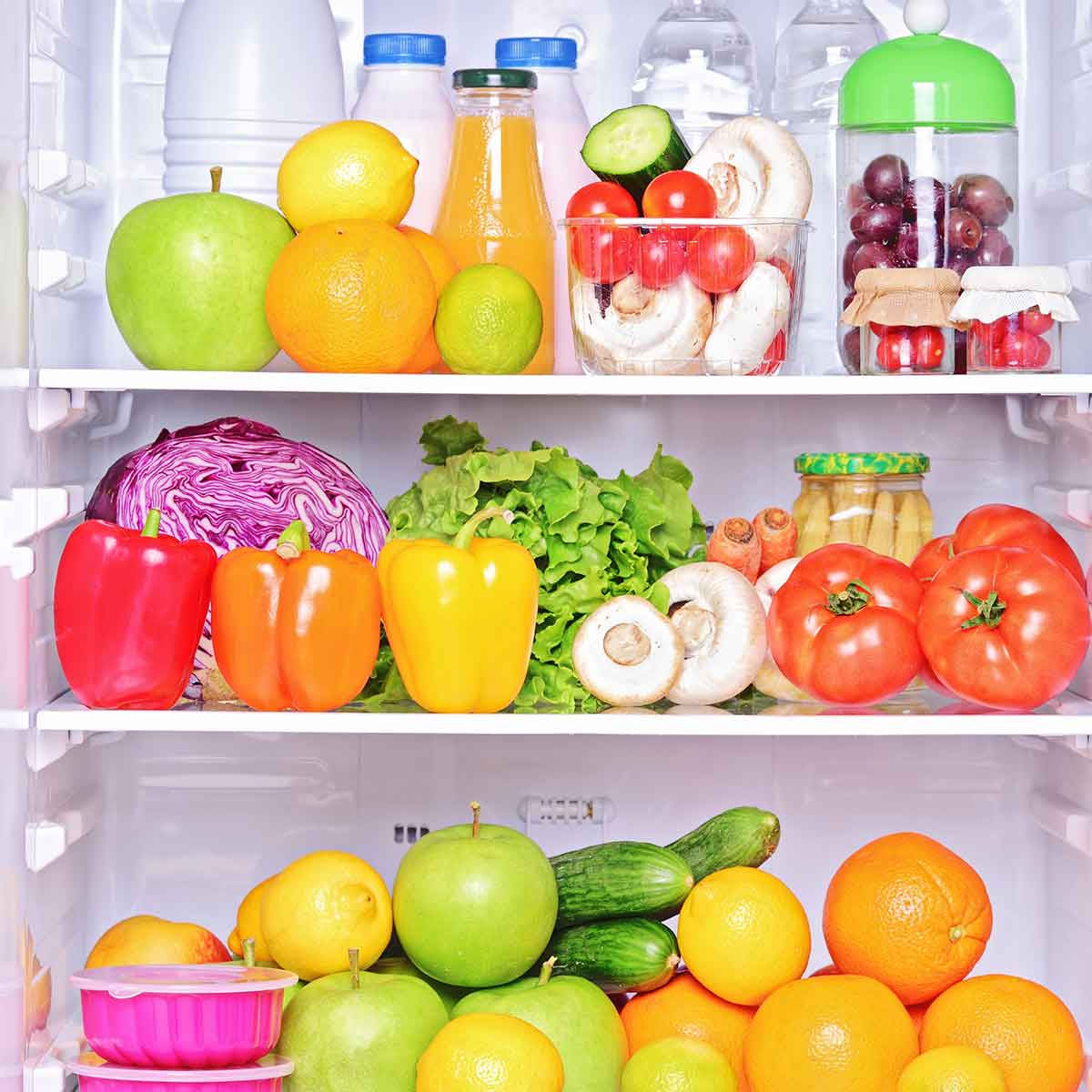 Refrigerator Clean Up