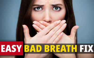 Do This For Just 10 SECONDS To Control BAD BREATH! ******* Quick, Effective Technique