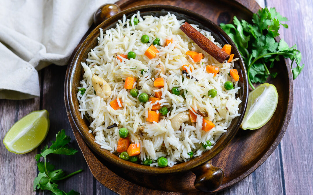 White Rice Pulao
