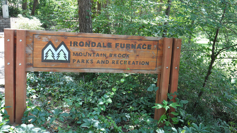Irondale Furnace Trail