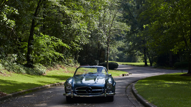 Beauty on Wheels: The Mountain Brook Driving Club