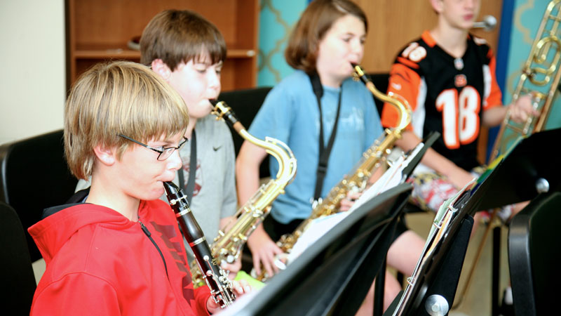 One of Mountain Brook's Own Leads Sixth-Grade Bands