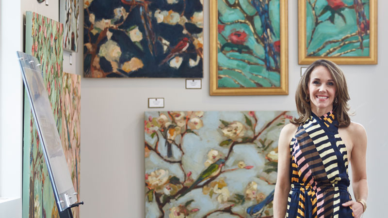 How Kathryn Trotter Gives Wings to her Artistry
