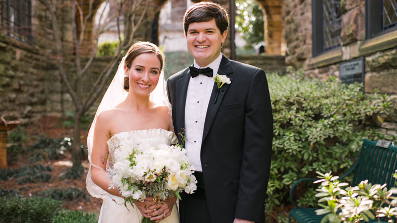 Liza Nix & Charlie Davis: A Mountain Brook Wedding