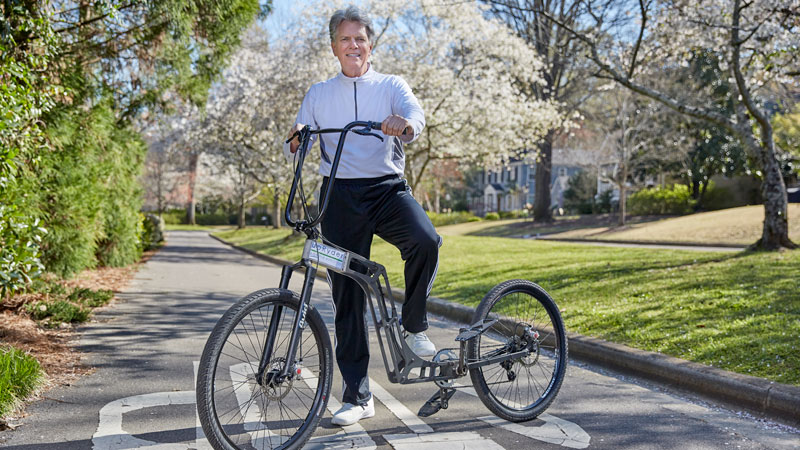 The Inventors: The UpRyder Stand-Up Bicycle