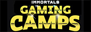 Immortals Gaming Camp powered by Nerd Street Gamers Logo