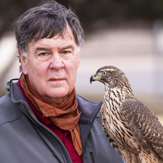 Ralph Rogers is a Montana contract wildlife biologist with two grown kids who are also professional wildlife biologists.  He has been a falconer for 54 years flying primarily long-wings at prairie grouse. Ralph has been involved in NAFA leadership since 1984 and has served the IAF as Vice President and NAFA representative.