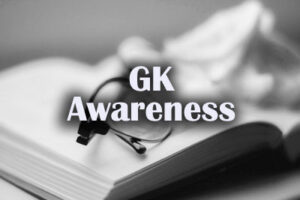 Important Questions on General Awareness