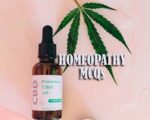 Old Question Papers on Homeopathy