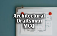 ITI Architectural Draftsman Questions and Answers