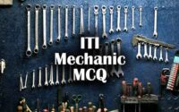 ITI Mechanic Questions and Answers