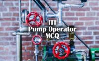 ITI Pump Operator Questions and Answers